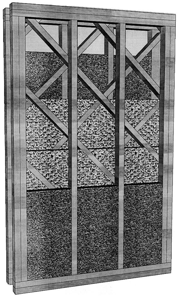 CAD-HArKun-Wandkonstruktion